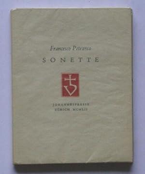 Sonette.: Petrarca, Francesco