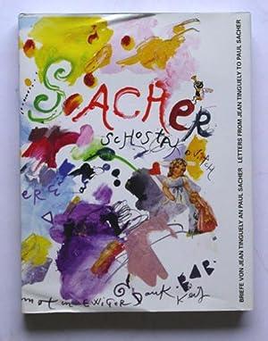 Briefe von Jean Tinguely an Paul Sacher und gemeinsame Freunde.: Tinguely, Jean - Margrit Hahnloder...