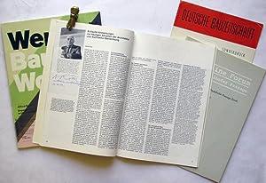 Zeitschriften-Konvolut (4 Hefte).: Roth, Alfred