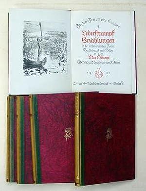 Lederstrumpf Erzählungen in der ursprünglichen Form. (5 Bde.).: Cooper, James Fenimore - ...