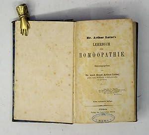 Lehrbuch der Homöopathie.: Lutze, Arthur - Ernst Arthur Lutze (Hg.)