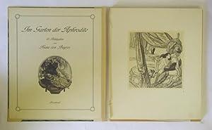 Im Garten der Aphrodite. 18 Bildgaben von Franz von Bayros. Privatdruck.: Bayros, Franz von