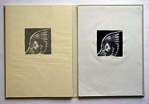 Ein Brief [Brief des Lord Chandos]. Zehn Originallithographien von M. Hunziker.: Hofmannsthal, Hugo...