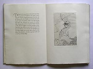 Sieben Radierungen von Hans Fischer zu sieben Fabeln von Aesop.: Aesop - Hans Fischer (Illustr.)