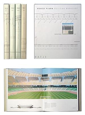 Renzo Piano - Building Workshop. Sämtliche Projekte 1 - 4. (4 Bde.).: Piano, Renzo - Peter Buchanan...