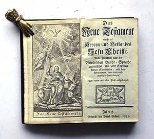 Das neue Testament unsers Herren und Heilandes: Rudolf Walther -