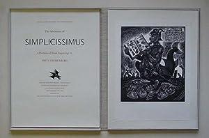 The adventures of Simplicissimus. A portfolio of: Eichenberg, Fritz -