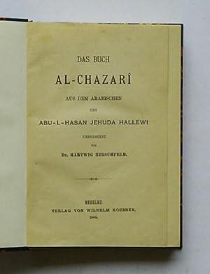 Das Buch Al-Chazari.: Hallewi, Abu-L-Hasan Jehuda - Hartwig Hirschfeld