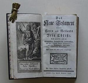 Das neue Testament unseres Herrn und Heilands