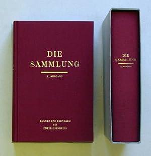 Die Sammlung (2 Bde.). Literarische Monatsschrift. 1.