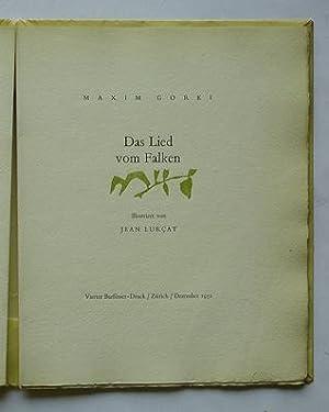 Das Lied vom Falken.: Gorki, Maxim -