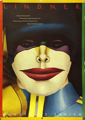 Plakat - Richard Lindner. Offset.