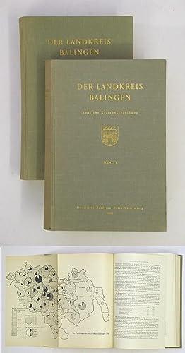Der Landkreis Balingen 2 Bde. Amtliche Kreisbeschreibung.: Statistisches Landesamt ...