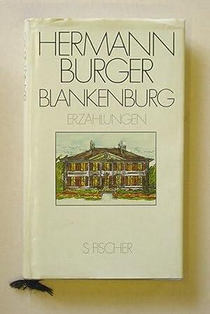 Blankenburg. Erzählungen.: Burger, Hermann