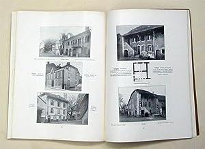 Das Bürgerhaus in der Schweiz - La maison bourgeoise en Suisse - II. Band. Kanton Genf.: ...