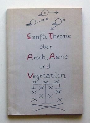 Sanfte Theorie über Arsch, Asche und Vegetation.: Penck, A. R.