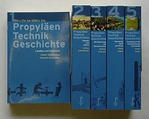 Propyläen Technik Geschichte. (5 Bde., cplt.).