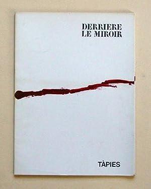 Derrière le Miroir, Nr. 180. Tàpies.: Derrière le Miroir - Antoni Tàpies
