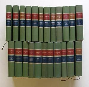 Gedenkausgabe der Werke, Briefe, Gespräche (24 Bde.).: Goethe, Joh. Wolf. v. - Ernst Beutler (...