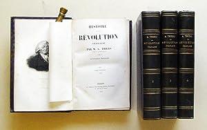 Histoire de la Révolution française (4 Bde., compl.).: Thiers, M. A