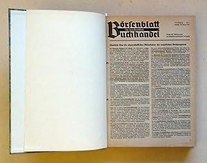 Börsenblatt für den deutschen Buchhandel. 114. Jahrgang, Nr. 1-37 (compl.) u. 115. ...