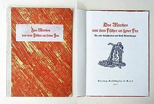 Das Märchen von dem Fischer un syner Fru.: Würtenberger, Ernst (Illustr.) - [Runge, Philipp ...
