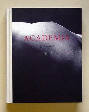 Academia - Qui es-tu.: Vervoordt, Axel (Hg.)