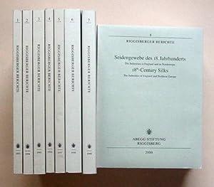 Riggisberger Berichte (Bd. 1-13).: Abegg-Stiftung (Hg.)