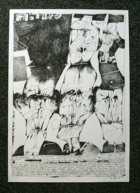 Lichtenberg Bilderbogen, 2. Folge, Bogen 1A.: Janssen, Horst