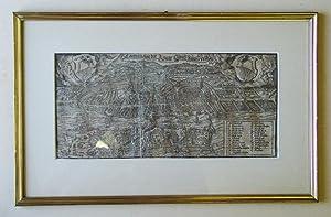 Contrafactur der Statt. Zürich anno 1588. Holzschnitt.: Fryg, Ludwig