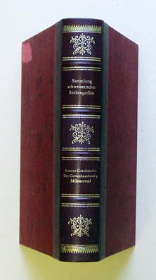 Die Rechtsquellen des Kantons Graubünden. [Serie B:]: Schorta, Andrea (Bearb.