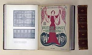 Deutsche Kunst und Dekoration. Illustrierte Monatshefte zur: Koch, Alexander (Hg.)