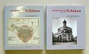 Johann Conrad Schlaun 1695-1773. Das Gesamtwerk (2 Bde., compl.).: Schlaun, Johann Conrad - Florian...
