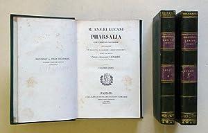 M. Annaei Lucani Pharsalia cum varietate lectionum: Lucanus - Petrus-Augustus
