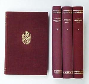 Johann Jakob Bachofens gesammelte Werke (Bd. I-IV, 4 Bde.).: Bachofen, Johann Jakob - Karl Meuli (...