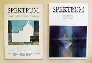 Spektrum. Nr. 1 - 133. (in 133: Knebel, Sven u.
