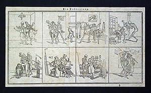 Ein Todtentanz - [der niederen Stände]. Ausschnitt aus einer unbekannten Zeitung.: H.