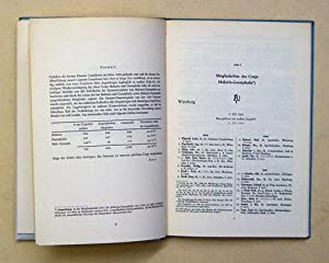 Makaria-Guestphalia Würzburg - Mitglieder-Listen 1863-1962.: Kater, Herbert (Bearb.)