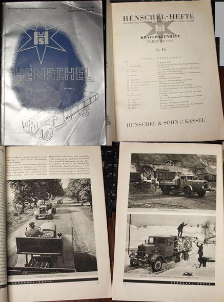 Henschel Hefte Kraftwagenheft: Henschel & Sohn: