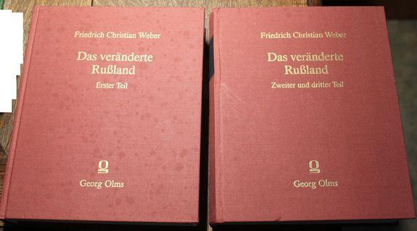 Das veränderte Rußland 3 Teile in 2: Weber, Friedrich Christian: