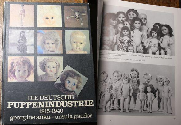 Die deutsche Puppenindustrie 1815-1940 - Anka, Georgine und Ursula Gauder