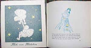 Wie Flick und Flöckchen zur Erde flogen. Märchen von Nina Castiel. Zeichnungen von Christa Reese-Manz.