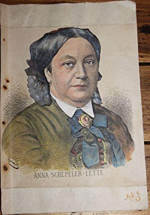 Anna Schepeler-Lette ,* 19. Dezember 1829 in Soldin; ? 17. September 1897 in Berlin, war eine deu...