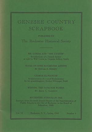 GENESEE COUNTRY SCRAPBOOK: Various Contributors