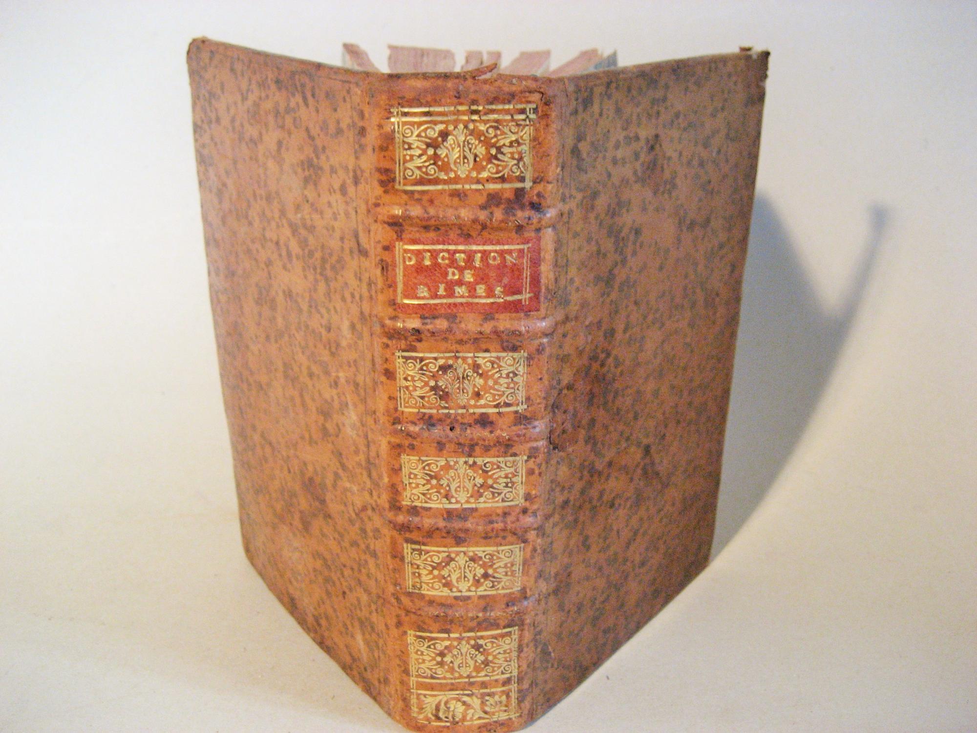 Dictionnaire de rimes RICHELET César-Pierre