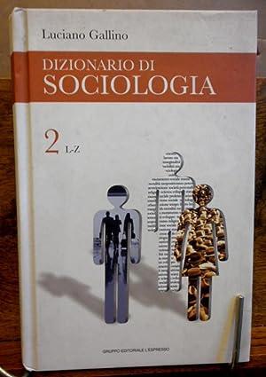 dizionario di sociologia gallino