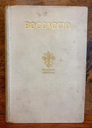 IL DECAMERONE , volume primo: Giovanni Boccaccio