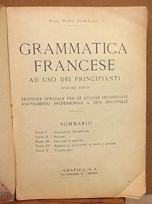 Grammatica Francese ad uso dei principianti (: Dino Ramacci