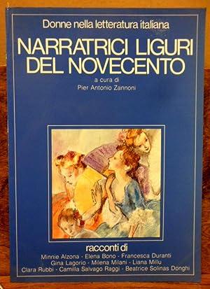 Narratrici Liguri del Novecento racconti di Minnie: Pier Antonio Zannoni