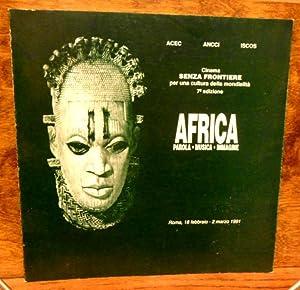 Africa parola musica immagine , cinema senza: ACEC , ANCCI